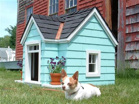 built in dog house build a dog house out of pallet pallets designs
