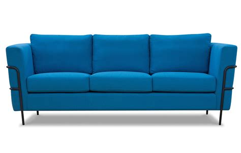 blue modern sofa blue 3 seater sofa home furniture out out