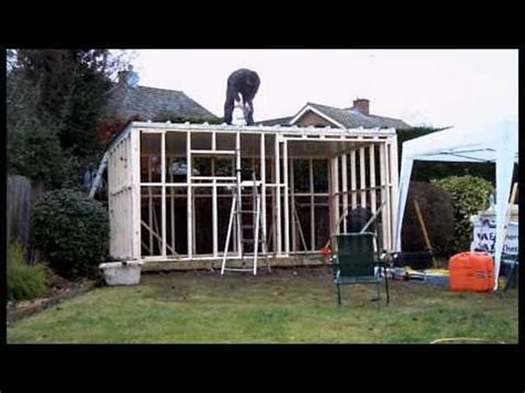 the a frame house monarch home garden studio garden room in two minutes youtube