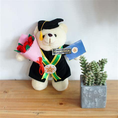 Boneka Wisuda Yang Kecil paket berdiri buket bunga flanel kecil 0858 7874 9975