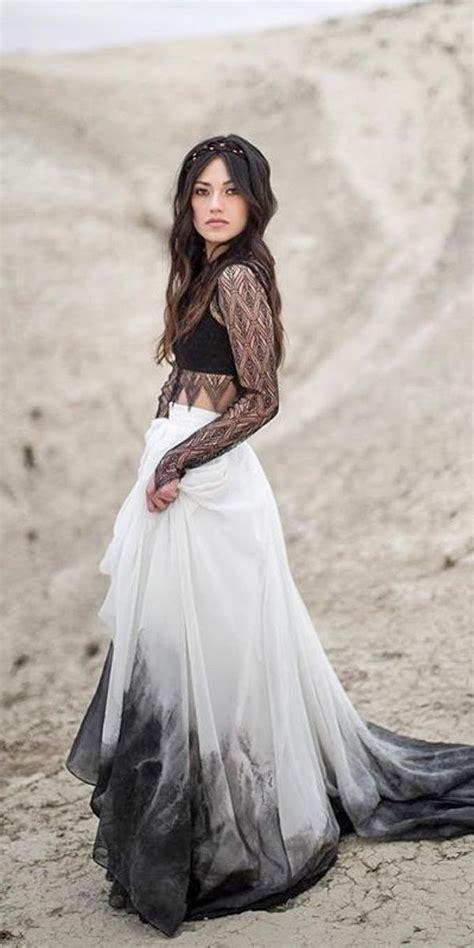 Wedding Dresses Black by Best 25 Black Wedding Gowns Ideas On Black