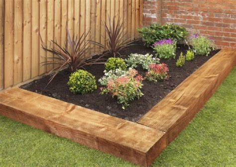 Garden Ideas With Sleepers by Sleeper Landscaping Design Ideas Landscaping Gardening