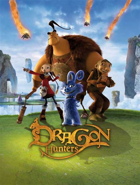 film with cartoon dragon dragon hunters movie posters from movie poster shop