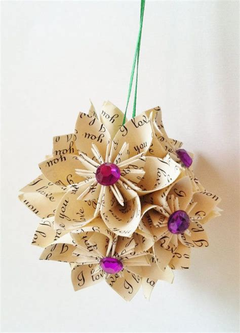 Papercrafting Ideas - pretty paper craft decoration ideas family