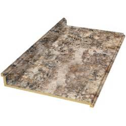 Foot Laminate Countertop - shop belanger fine laminate countertops formica 4 ft antique mascarello fx radiance straight