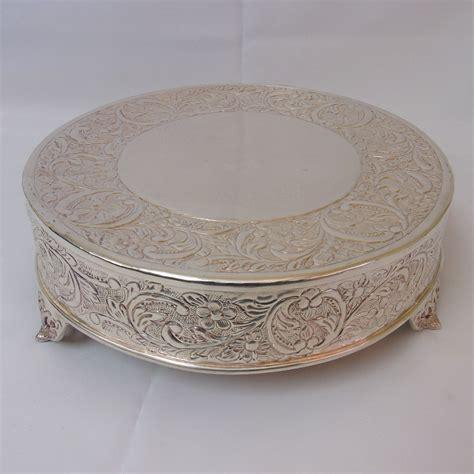 Silver Cake Pedestal silver cake pedestal american rentalamerican rental