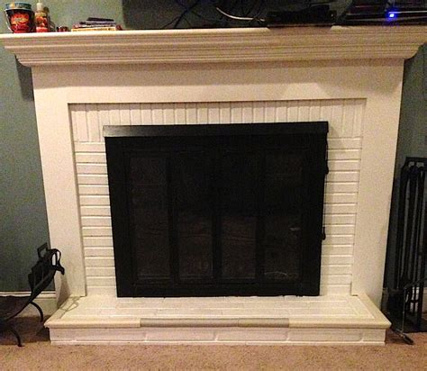 brick fireplace painting laffco painting
