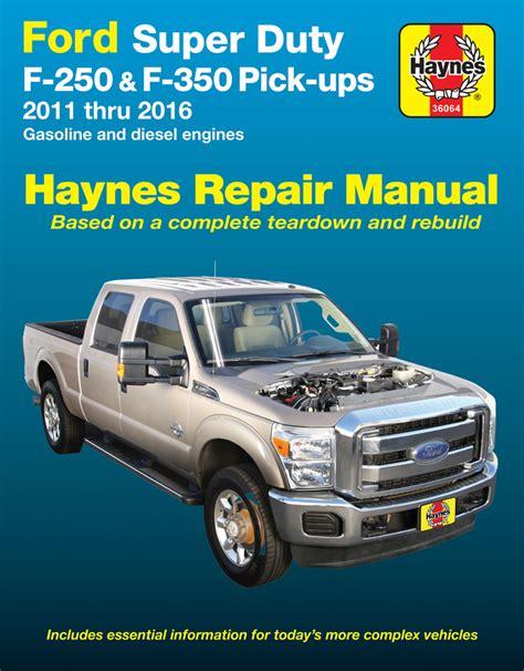 how to download repair manuals 1996 ford f series free book repair manuals ford super duty f 250 f 350 haynes repair manual 2011 2016 hay36064