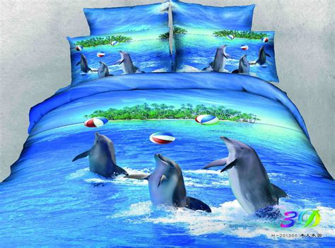 dolphin bedding kids ocean bedding promotion shop for promotional kids ocean bedding on aliexpress com