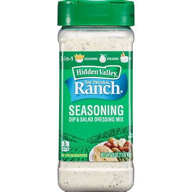 hidden valley salad dressing seasoning mix spicy ranch 1 oz ebay hidden valley ranch seasoning salad dressing mix 16 oz