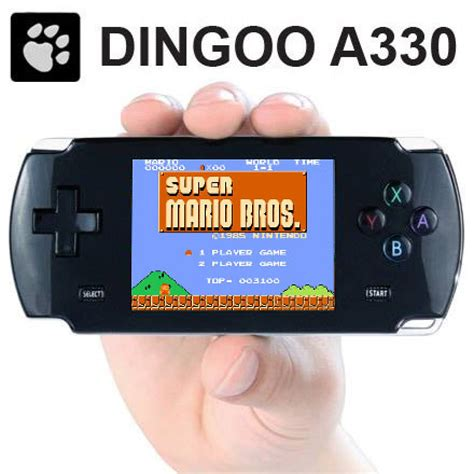 handheld console emulator dingoo a330 nes snes gameboy advance gba sega mega