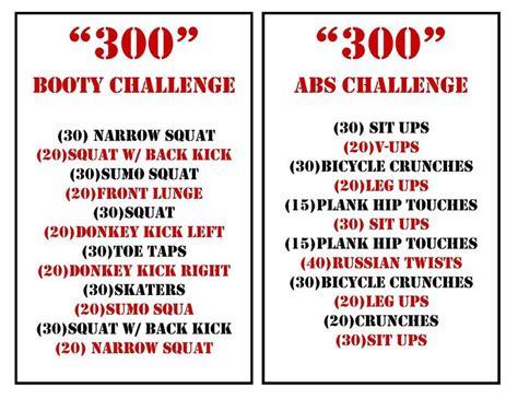 300 rep challenge best 25 300 ab challenge ideas on 30 ab