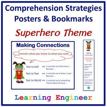 themes in reading comprehension 17 best images about superhero classroom ideas on
