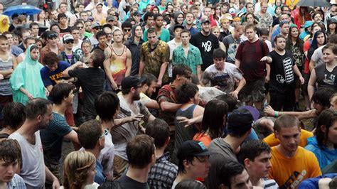 osh pit mosh pit math physicists analyze rowdy crowd wrvo