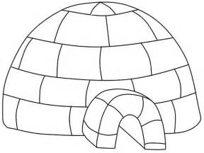 igloo coloring page free coloring pages of letter i igloo