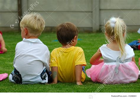 children  friends stock photo   featurepics