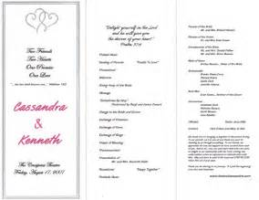 Related pictures wedding program examples pinterest