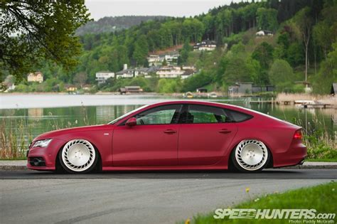 slammed audi a7 how low can your audi go slammed a7 photo from