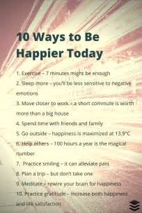 10 simple things you can do today that will make you happy