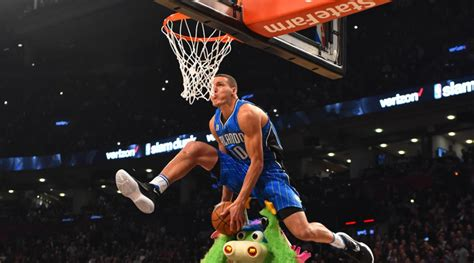 Tees Nike Every Slam Dunk by Aaron Gordon Impresses At Slam Dunk Contest Si