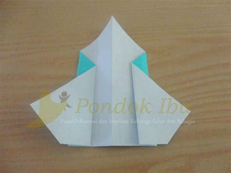 cara membuat origami arnab membuat origami wajah pinguin