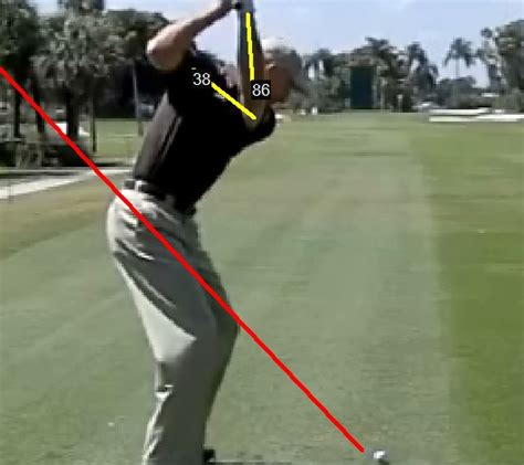 golf swing consistency the consistent golf swing plane consistentgolf com