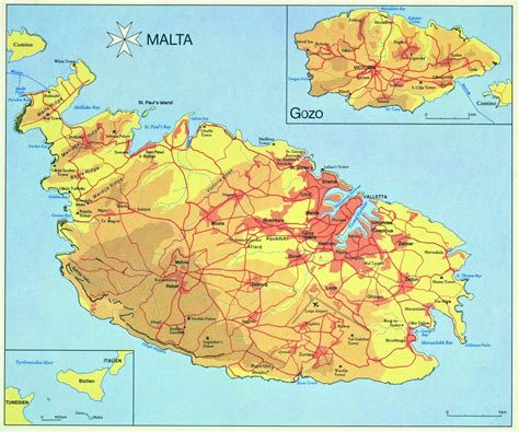 map of malta large malta island maps for free and print high