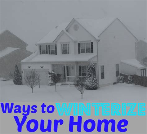5 frugal ways to winterize your home