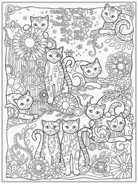 advanced cat coloring pages printable dragon coloring pages for adults advanced