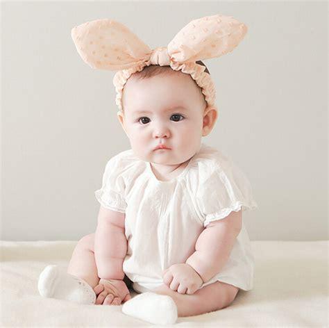 Headband Baby And Bunny Ears aliexpress buy korean style baby bunny ears headband