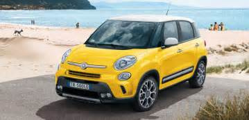 Fiat 500l Trekking Colours Fiat 500l Trekking Cross Look And Style
