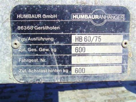 Motorrad Anhänger Für Pkw by Pkw Anh 195 164 Nger Bauunternehmen