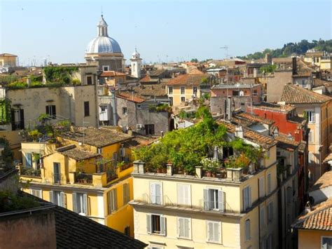 hotel co de fiori rome roof top view of rome picture of boutique hotel co de