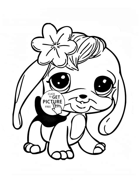 Littlest Pet Shop Coloring Pages Panda