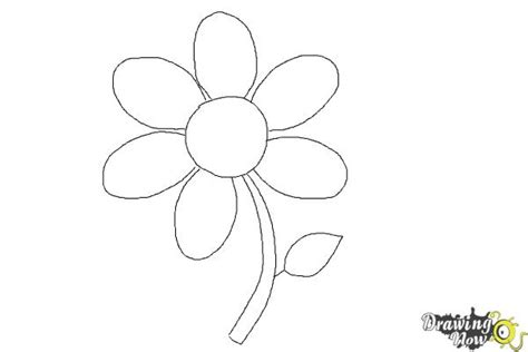 how to doodle easy flowers how to draw a flower easy drawingnow