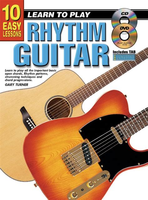 learn to play the guitar how to play and improvise blues and rock solos books 10 easy lessons learn to play rhythm guitar