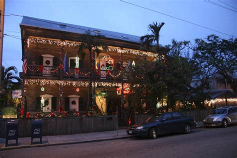 cypress house key west florida memory cypress house at 601 caroline street decorated for christmas key
