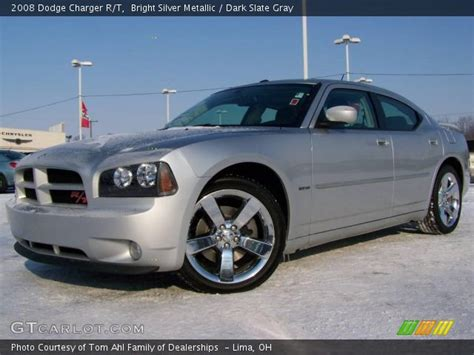 2008 silver dodge charger bright silver metallic 2008 dodge charger r t
