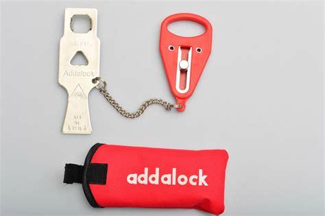 Portable Door Lock by Addalock Portable Door Lock Add For Home Hotel Motel