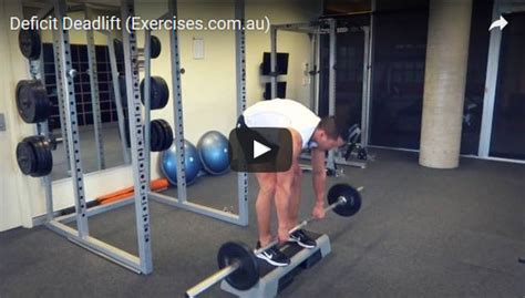deficit deadlift exercises au
