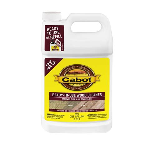cabot ready   deck wash wood cleaner lowes canada