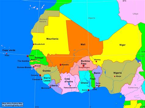 map of west africa africa east africa political map page 62 of 70 a