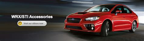 genuine subaru wrx and wrx sti parts and accessories