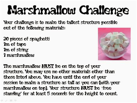 marshmallow challenge instructions mr collins mathematics blog year 6 problem solving day