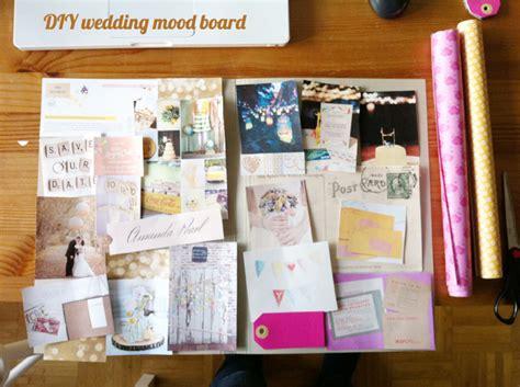diy idee ein handgemachtes wedding mood board - Was Ist Ein Moodboard