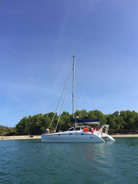 charter boat bali lexi catamaran