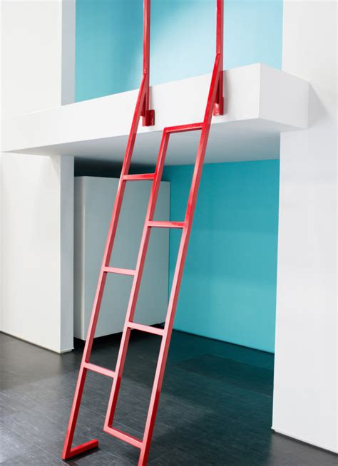 colorful modern interior ladders for design milk