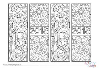 commonwealth doodle new year colouring pages