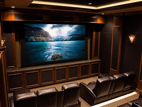 Home Theater System Design Tips by Home Theater Wiring Pictures Options Tips Amp Ideas Hgtv