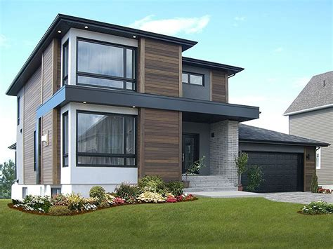 modern two house plans contemporary house plans modern two home plan